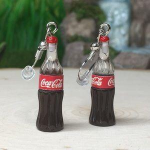 Jewelry - Coca Cola Bottle Earrings